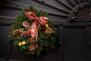 Wreath Christmas decorations