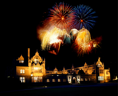 Bonfire night Rushton Hall