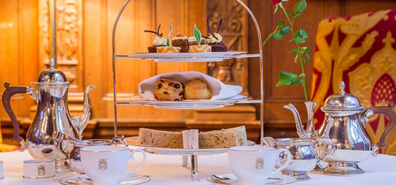 Afternoon-tea Rushton Hall