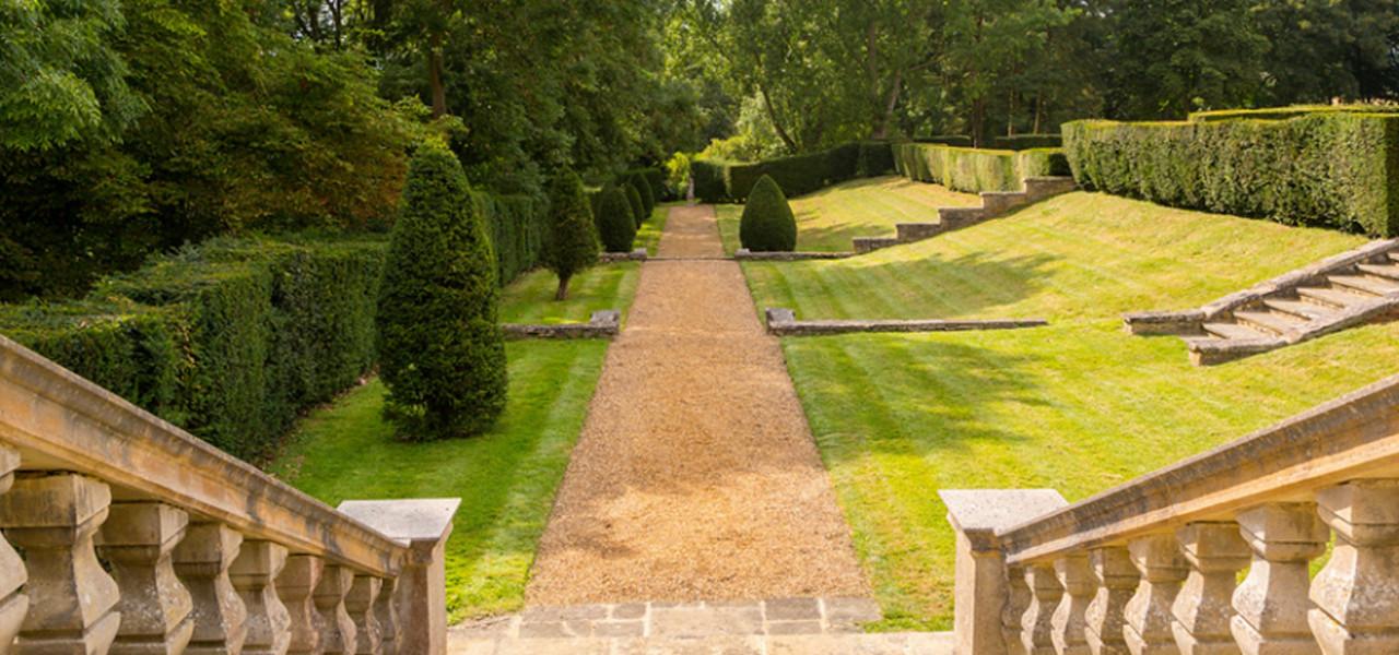 Gardens Rushton Hall