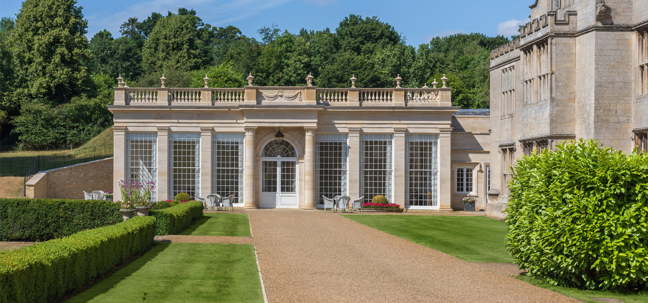 Orangery Weddings Exterior Rushton Hall