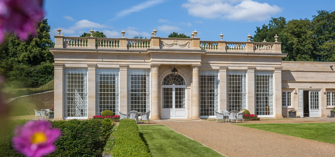 Orangery Exterior Weddings Rushton Hall